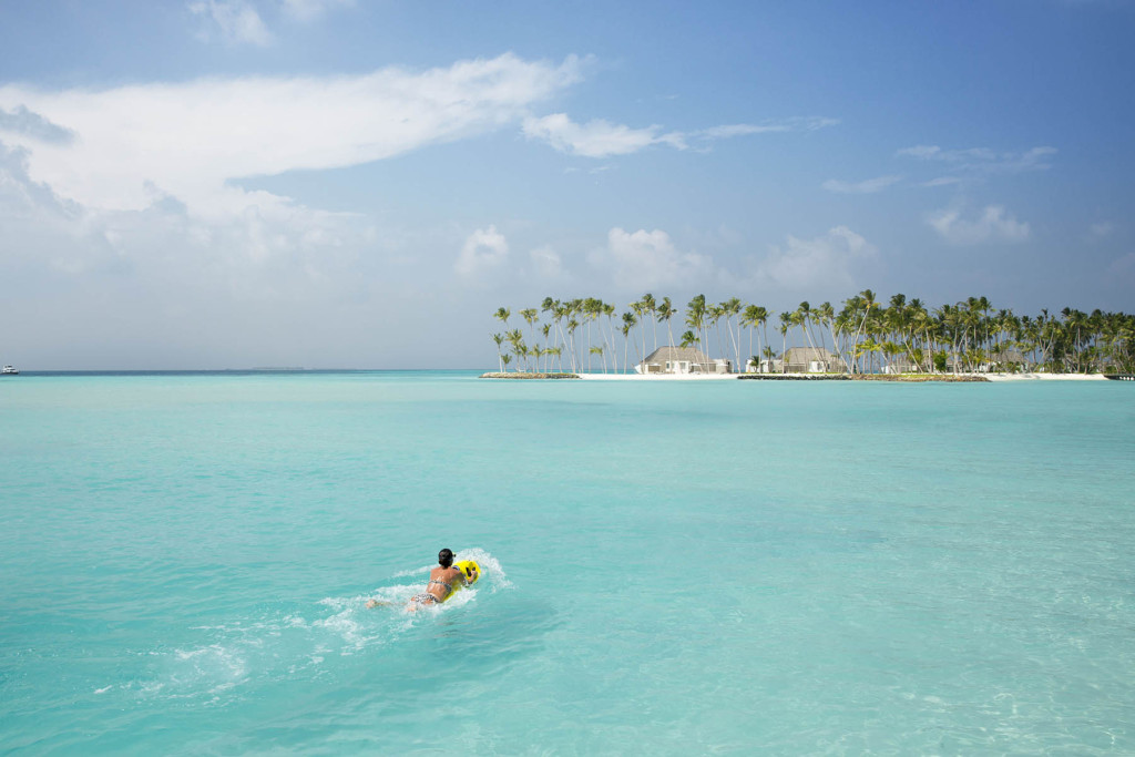 Морские развлечения. Мальдивские острова