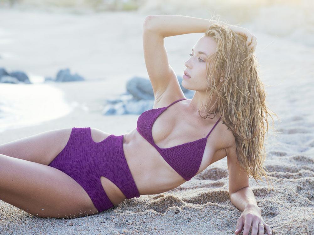 Ханна Фергюсон на мексиканском побережье