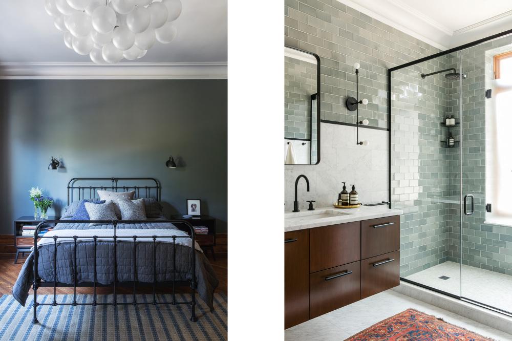 Традиционный стиль и модерн в одном интерьере