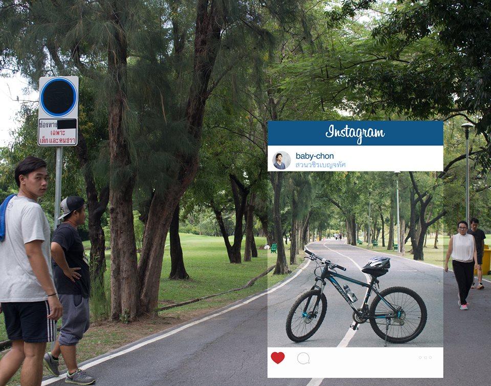 Велосипед на лесной дороге. Что за кадром?