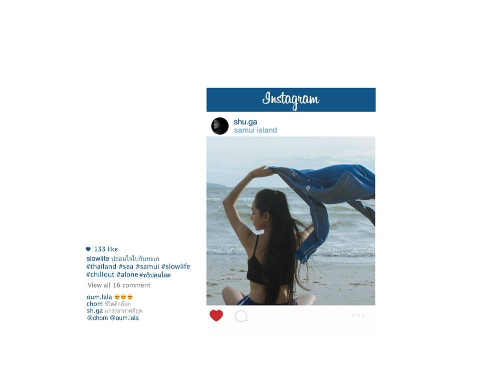 Тайская девушка на пляже