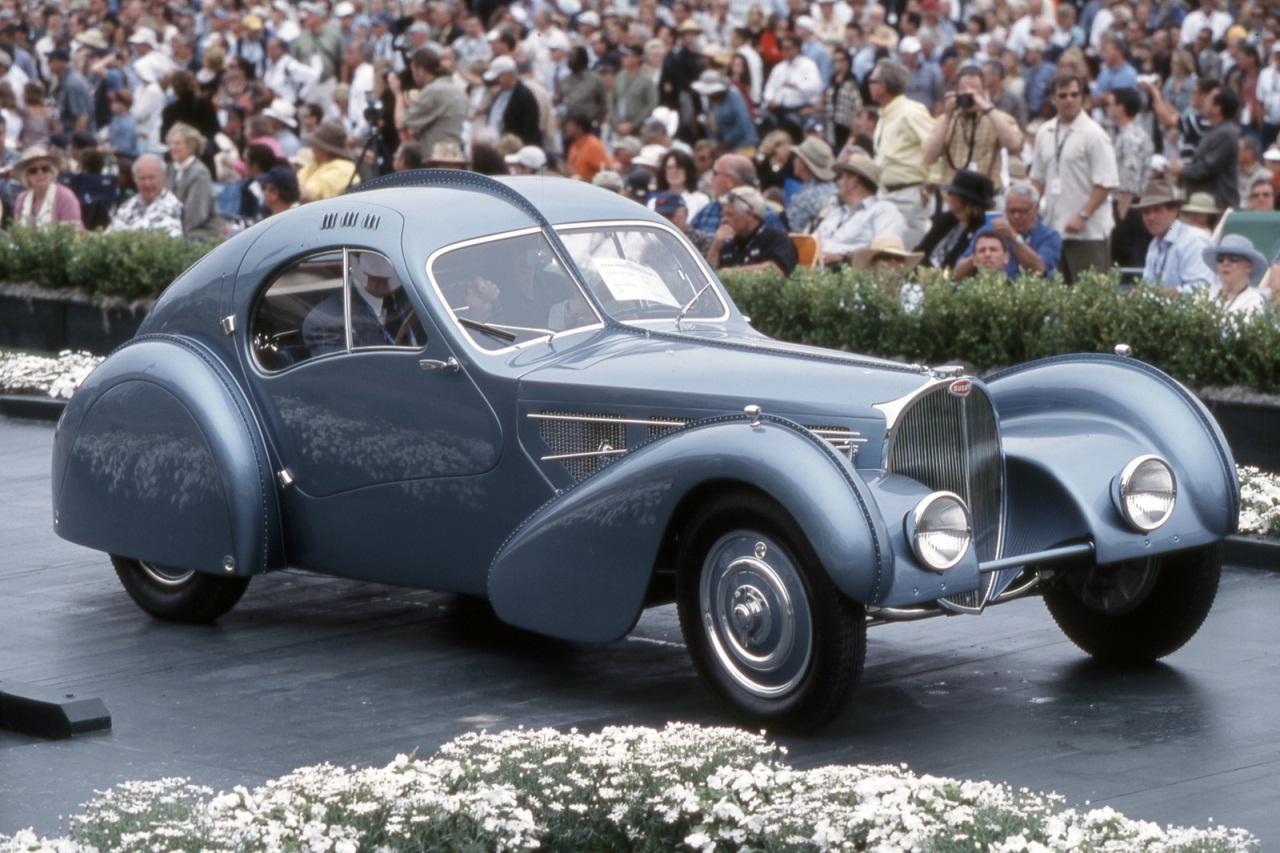 Bugatti Atlantic 1936 Самые дорогие автомобили