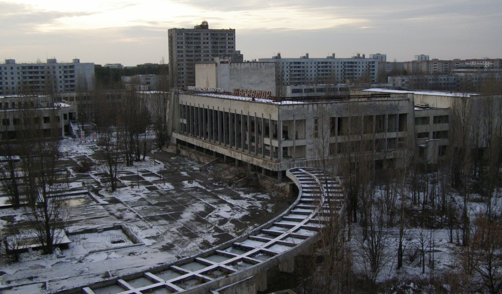 Эестремальные путешествия в Чернобыль