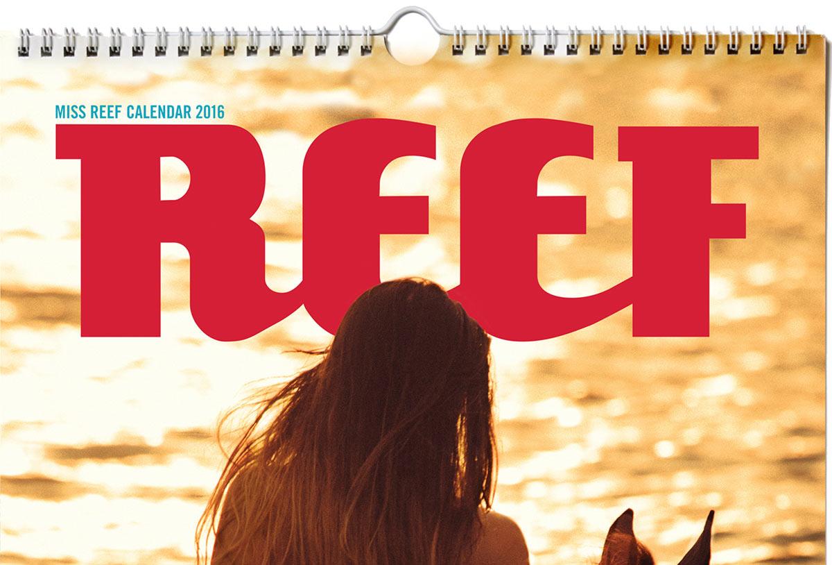 Девушки в бикини - Miss Reef Календарь