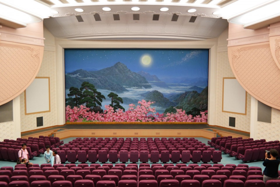 Северная Корея фото интерьеров