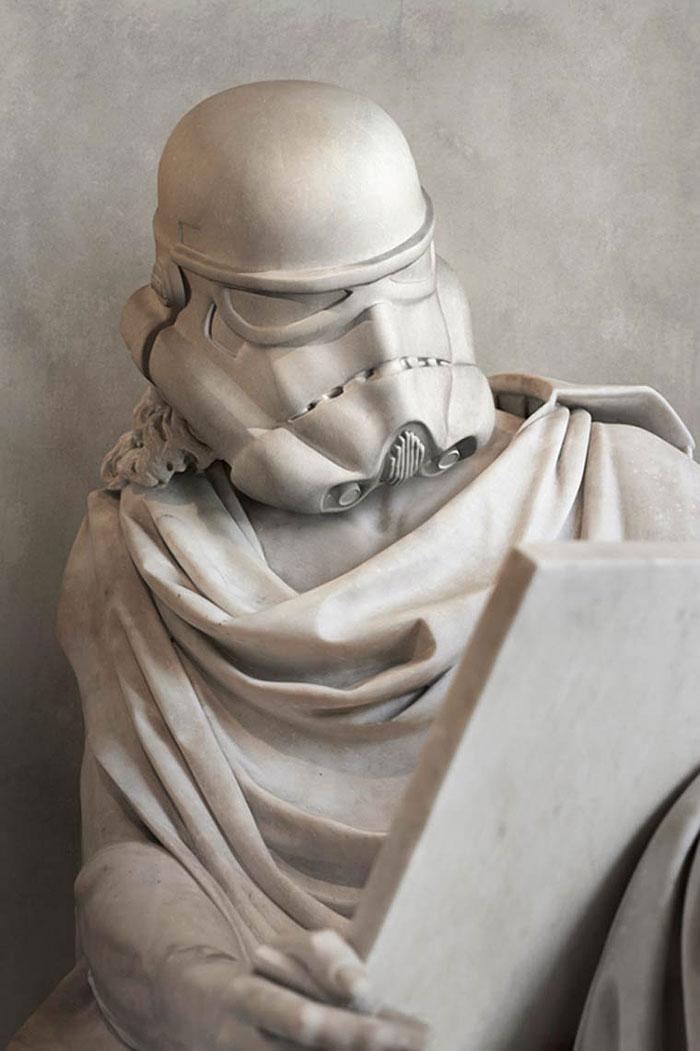 Имперский штурмовик в античном стиле