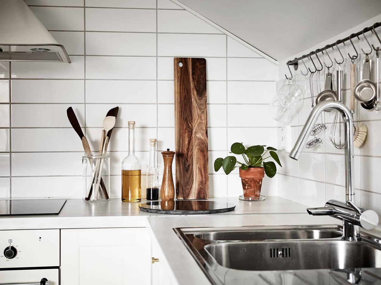 Минималистичная шведская кухня