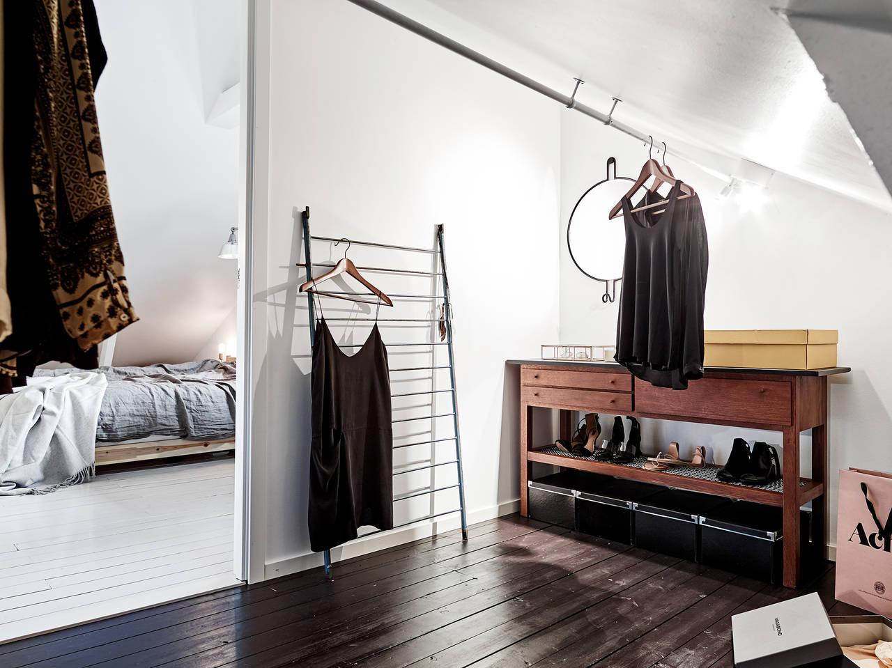 Шведские квартиры, гардеробная
