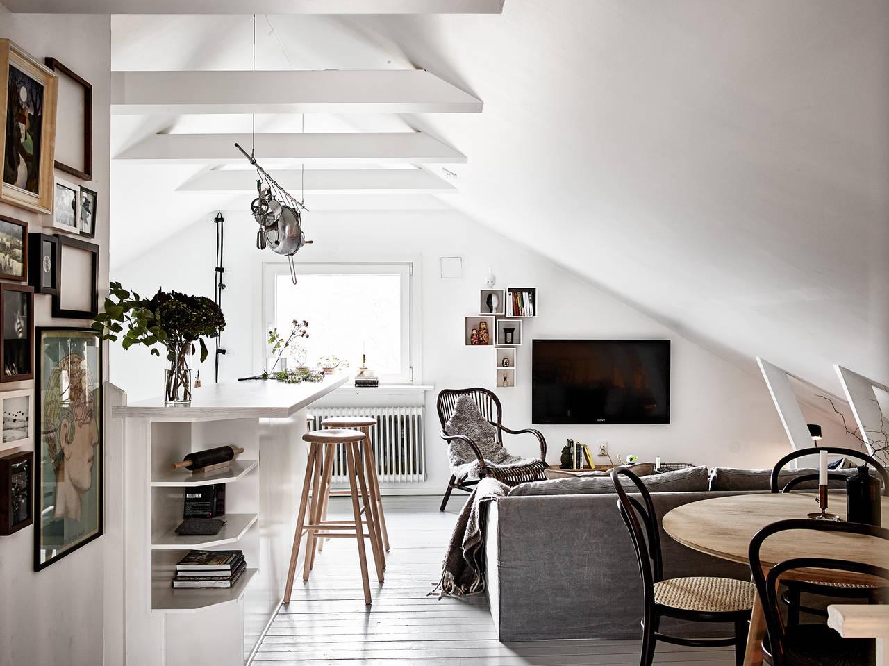 Шведские квартиры, скандинавский дизайн
