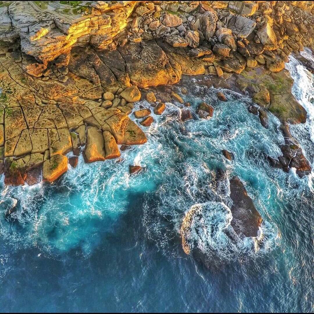 Бухта Бальман, Сидней, Австралия, фото с высоты