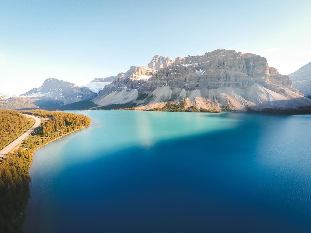 Озеро Боу, Канада