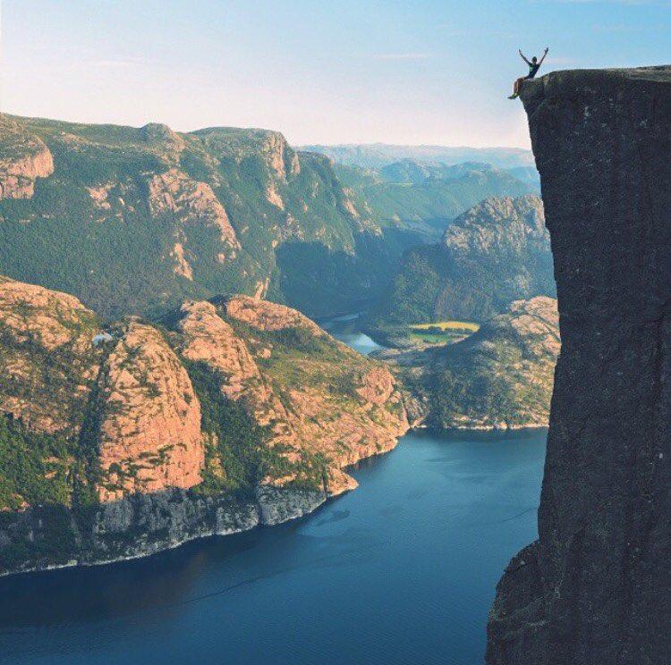 Утес Прейкестулен, Норвегия