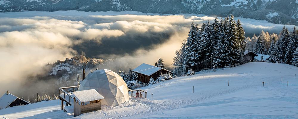 Зимний отдых в Швейцарии