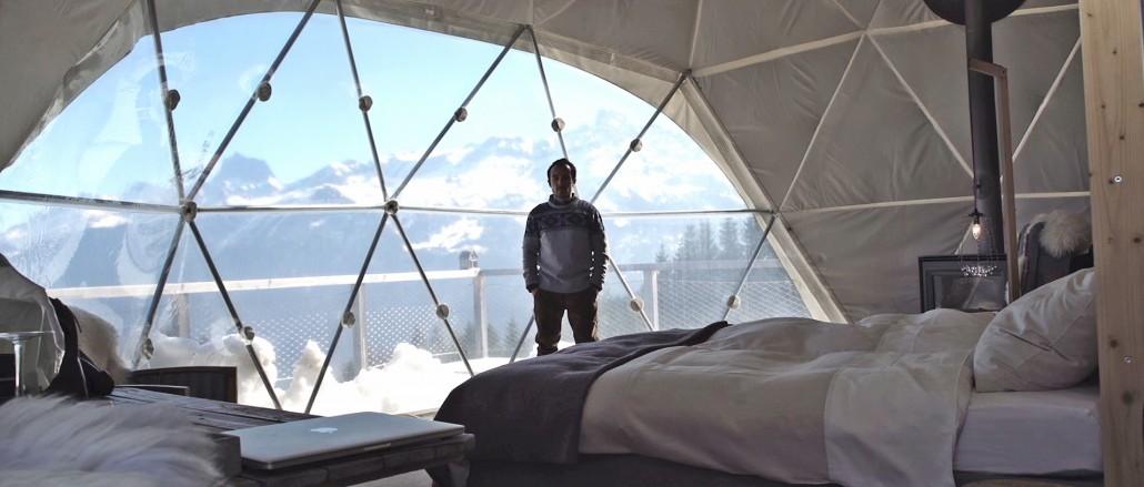 Зимний отдых в швейцарских Альпах