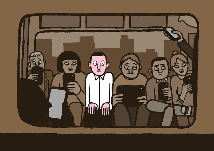 Белая ворона в метро, Жан Жюльен
