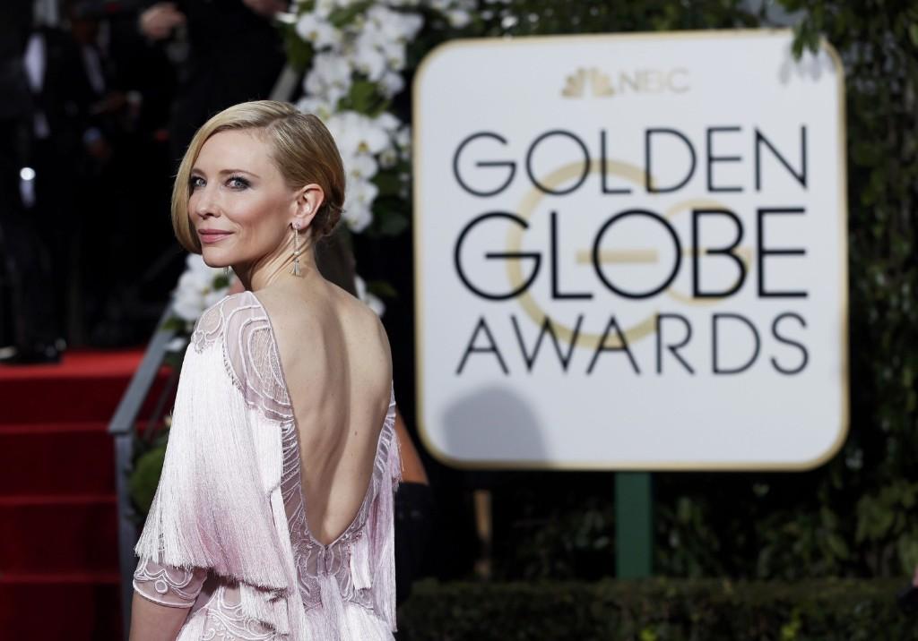 Кейт Бланшетт на 73-й ежегодной премии Золотой глобус