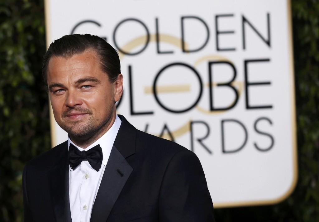 Леонардо ДиКаприо прибыл на церемонию вручения премии Золотой глобус