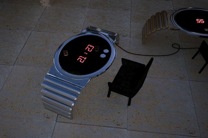 Стол-часы
