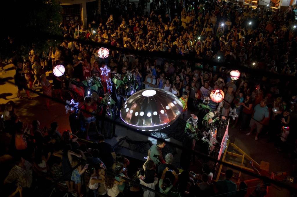 Ежегодный фестиваль НЛО и пришельцев в Аргетине 2016 г.