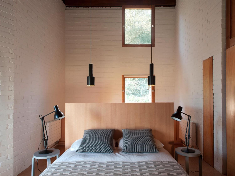 Стильная, минималистичная спальня