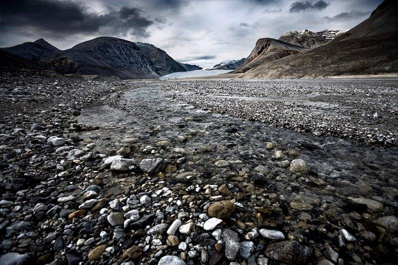 Ледник фьорд Отто, фотограф Себастьян Коупленд