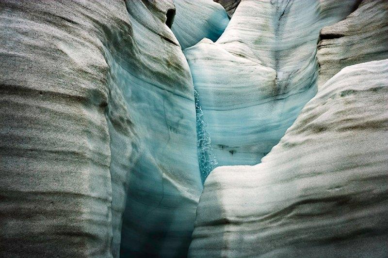 Таяние ледника фьорда Отто, фотограф Себастьян Коупленд