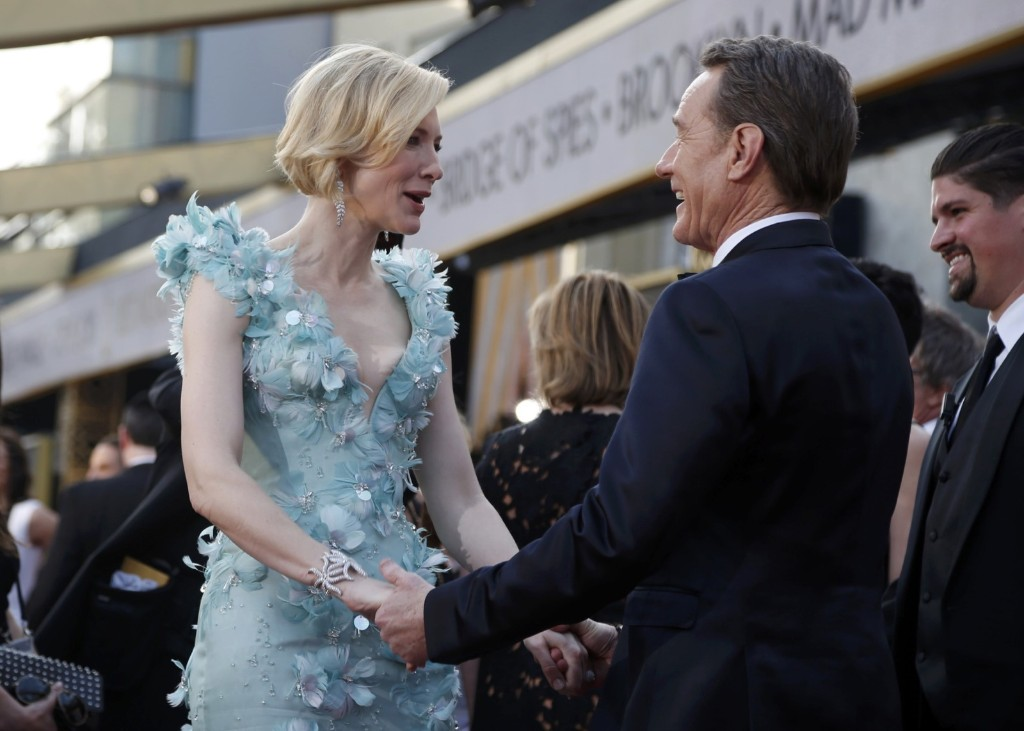 Cate Blanchett, nominated for Best Actress
