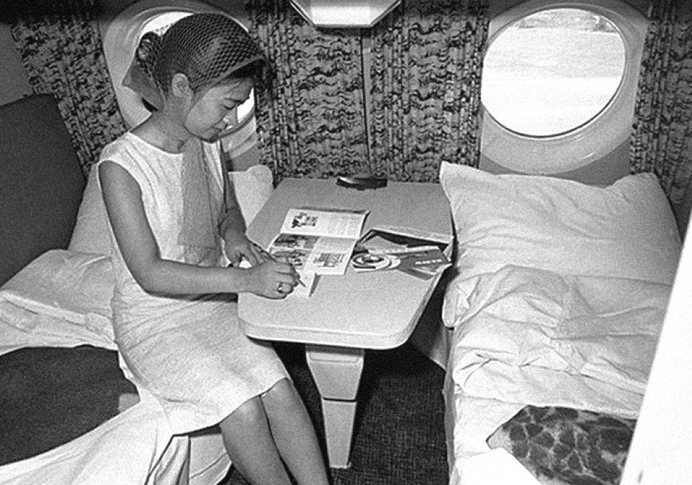 Первый класс в самолетах Аэрофлота эпохи СССР