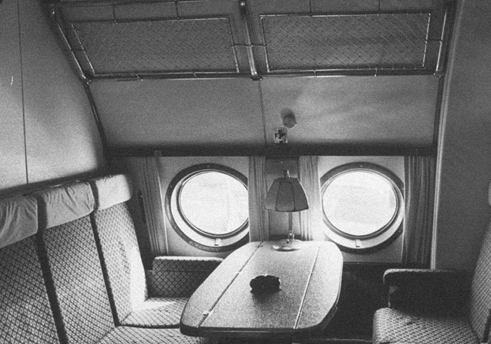 Салон советского самолета