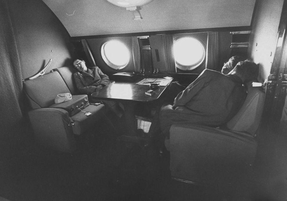 Салон первого класса ТУ-104