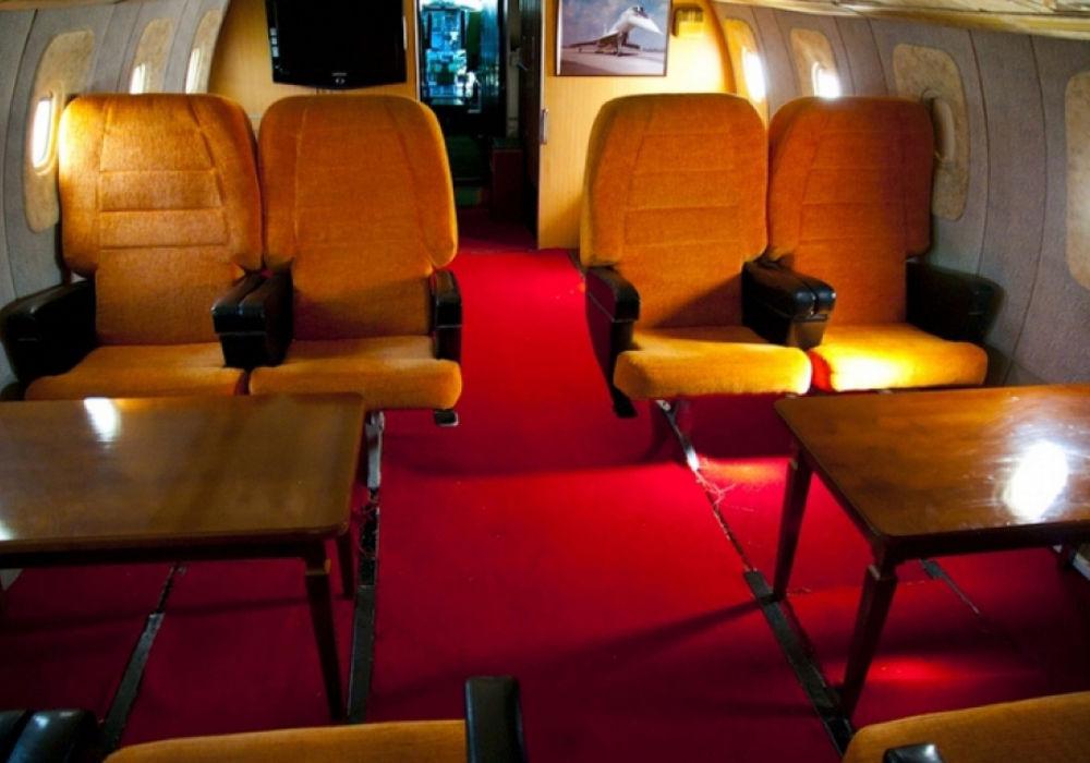 Первый класс в самолете Аэрофлота