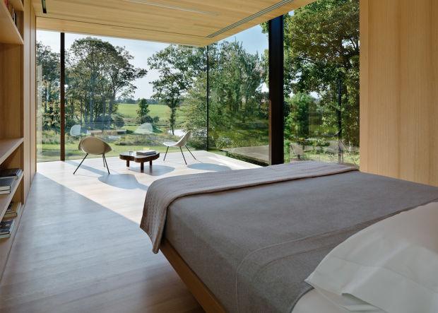 Спальня с видом на природу