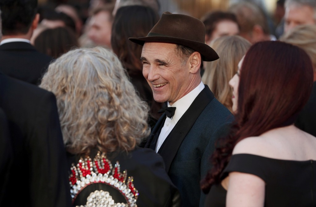 Mark Rylance, nominated for Best Supporting Actor