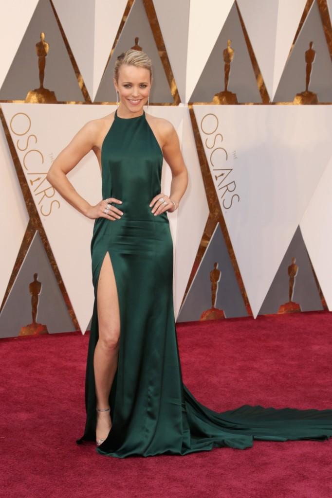 Rachel McAdams attends the 88th Annual Academy Awards