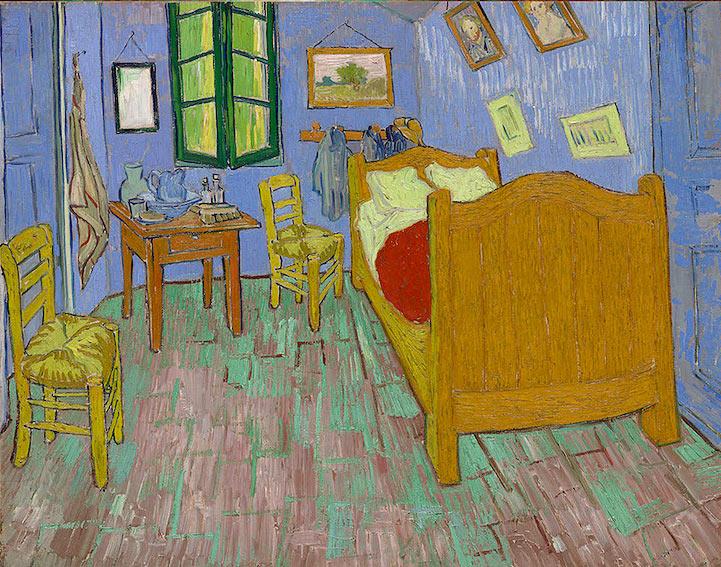 Ван Гог, Спальня в Арле, Институт искусств, Чикаго