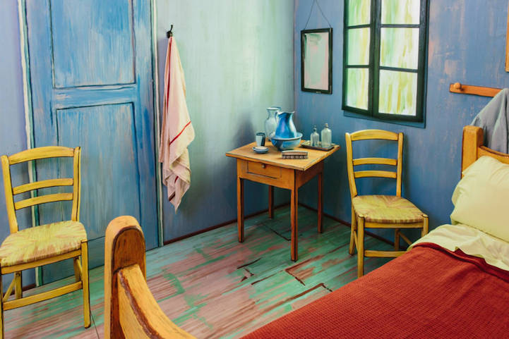 Спальня Ван Гона на Airbnb