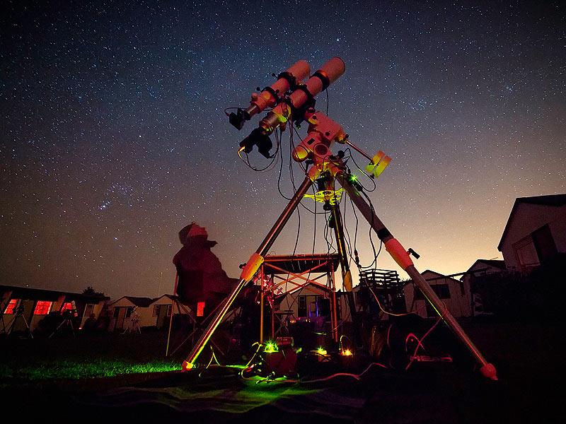 Наблюдение за звездами