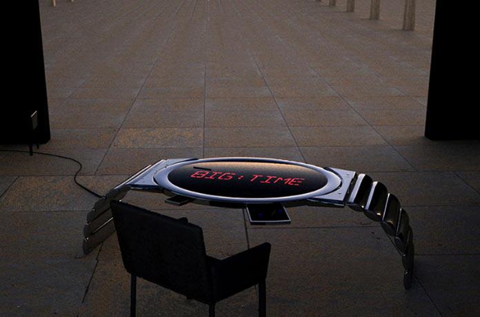 Стол-часы для дома и офиса