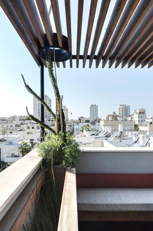 Пентхаус в Тель-Авиве, террасса