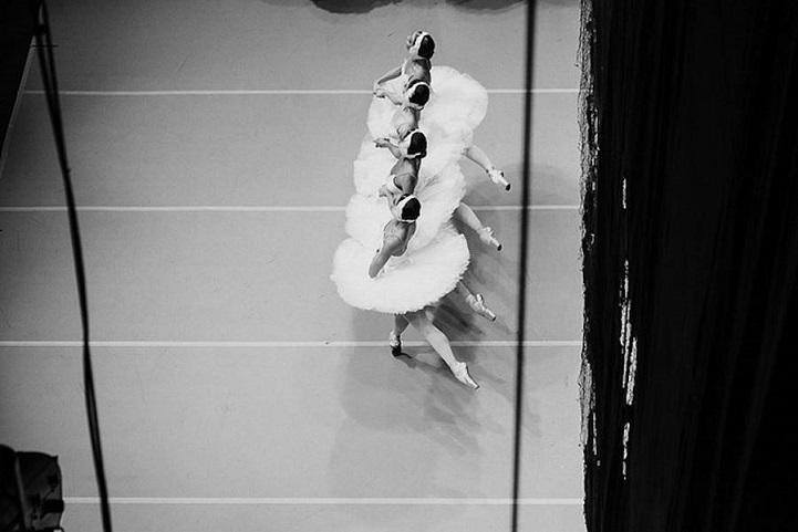 Русский балет. Танец маленьких лебедей, бэкстейдж