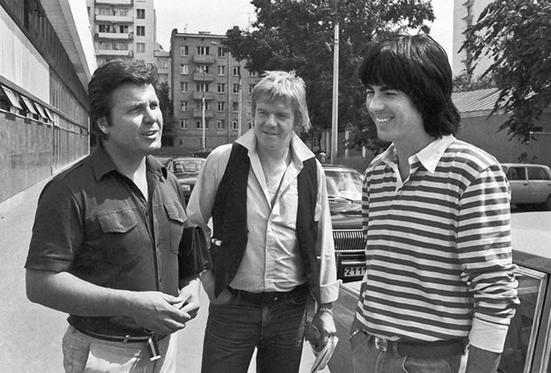 Лев Лещенко и Дидье Маруани 1983 год.