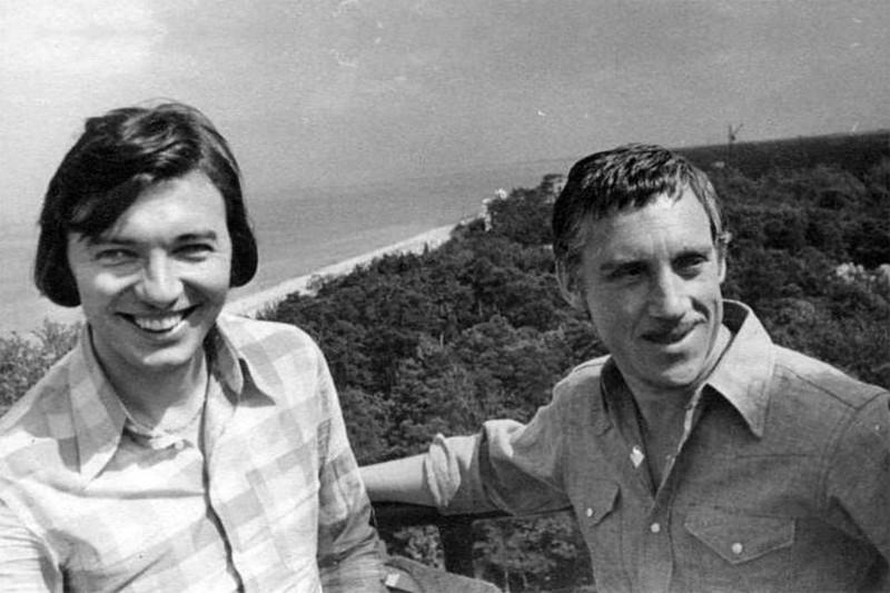 Карел Готт и Владимир Высоцкий 1972 год