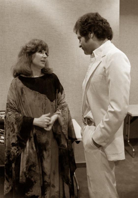 Алла Пугачева и Джо Дассен 1979 год