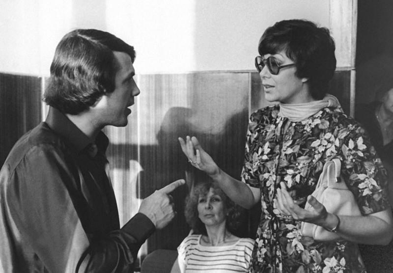 Адамо Сальваторе и Эдита Пьеха 1981 год