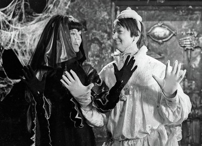 Джейн Фонда и Георгий Вицин 1975 год