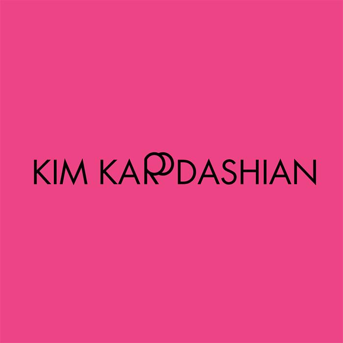 Логотипы из слов со скрытым смыслом. Ким Кардашьян