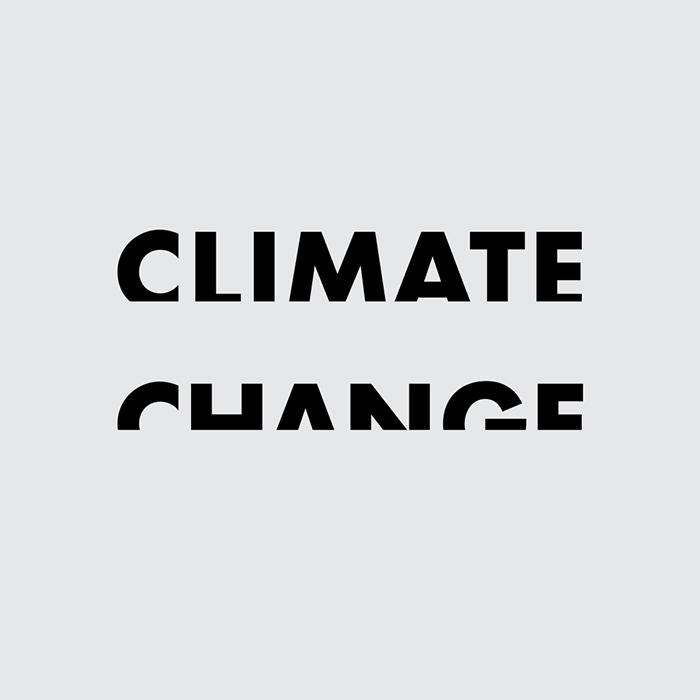 Логотипы из слов со скрытым смыслом. Изменение климата