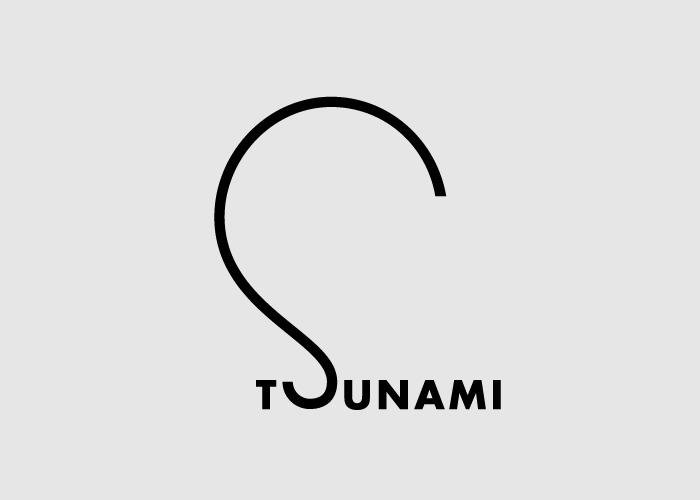 Логотипы из слов со скрытым смыслом. Цунами