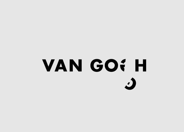 Логотипы из слов со скрытым смыслом. Винсент Ван Гог