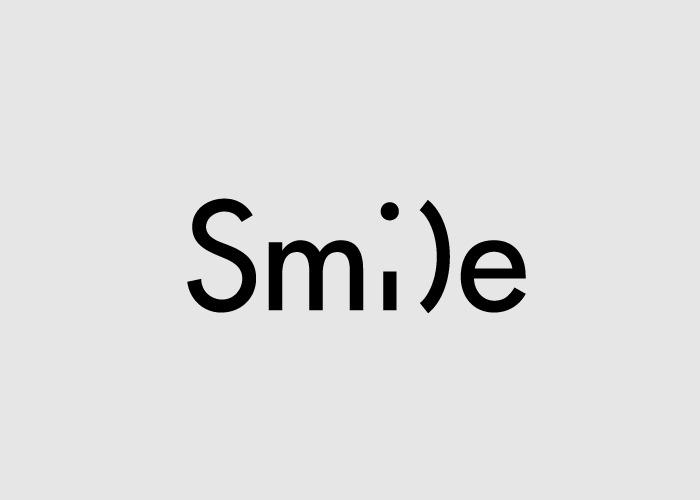 Логотипы из слов со скрытым смыслом. Улыбка